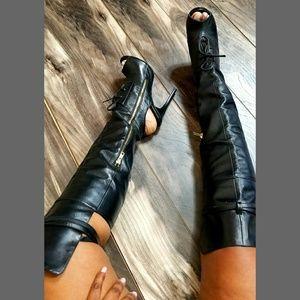London Trash Pasha Thigh High Boot